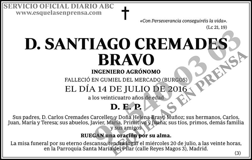 Santiago Cremades Bravo